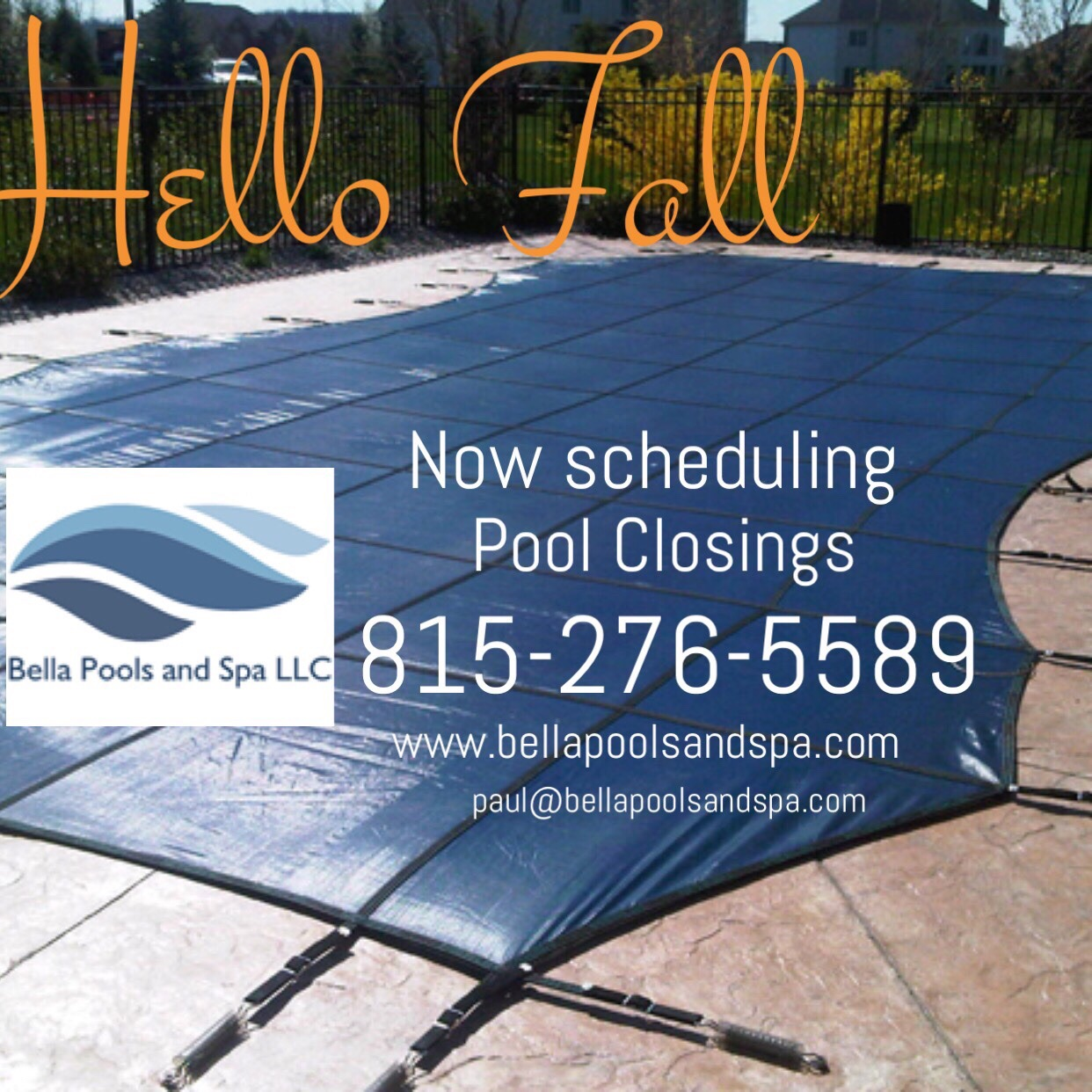 Swimming Pool Closing Service